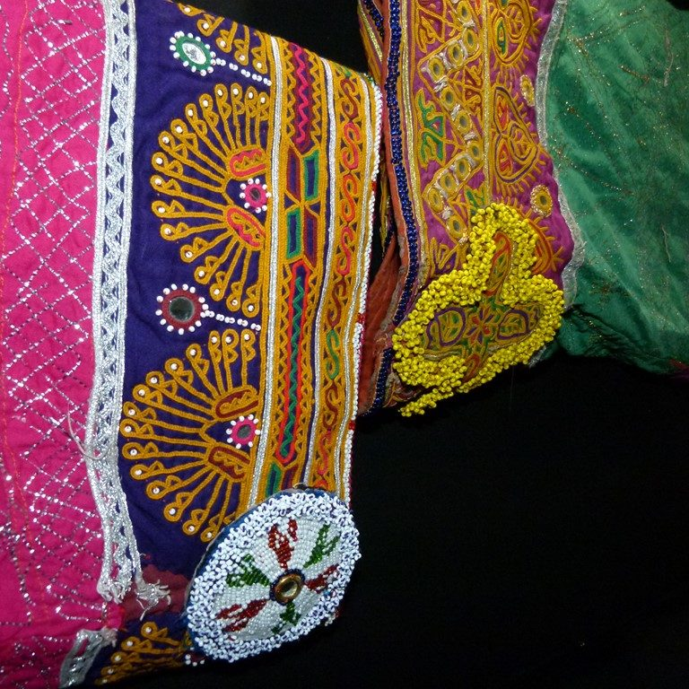 Broderies turkmènes
